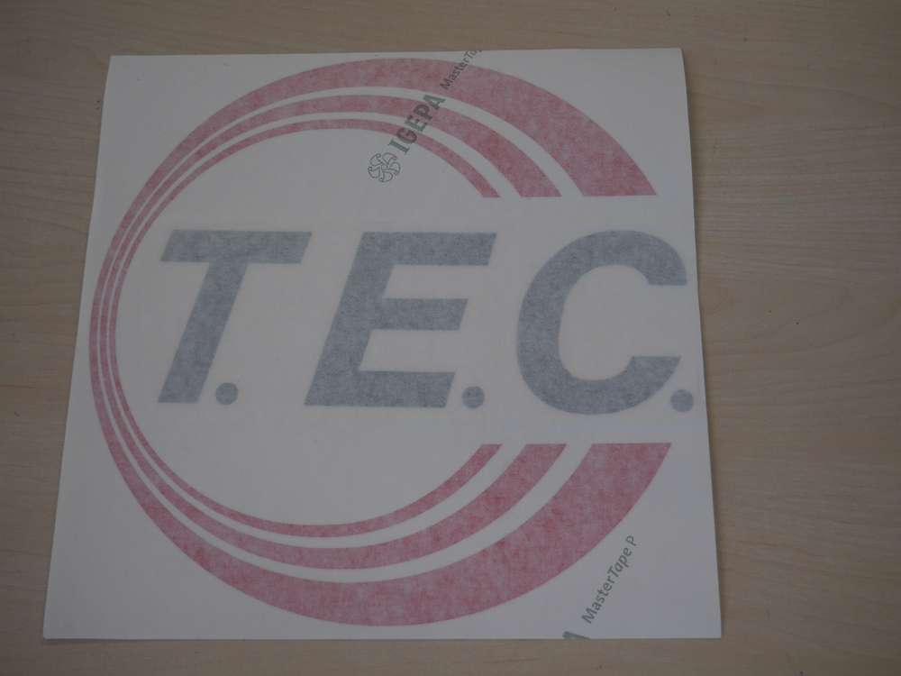 Aufkleber Tec Original Ersatzteil Tec